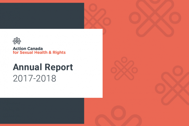 Action Canada 2017-2018 Annual Report Cover