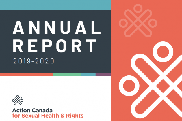 Cover page of the Action Canada 2019-2020 Annual Report